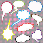 Dialog clouds. — Stock Vector