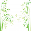 Bamboo background, vector illustration — Stock Vector