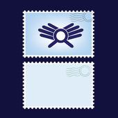 Post stamps — Stock Vector