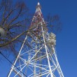Telecommunication mast / tower - Stock Photo