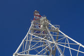Telecommunication mast / tower — Stock Photo