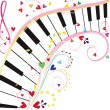 Royalty-Free Stock Vector Image: Piano keyboard
