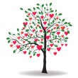Royalty-Free Stock Vector Image: Valentine tree
