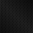 Stockvector : Hexagon metal background