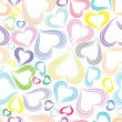 Excellent seamless valentine background — Image vectorielle