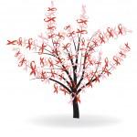 Ribbon tree — Stock Vector