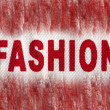 Stock Photo: Grunge fashion background