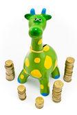 Giraffe Money-box — Stock Photo