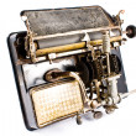 Ancient Typewriter — Stock Photo