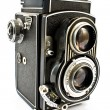 Vintage two lens photo camera — Stock Photo #4983887