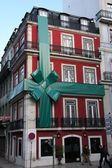 Vánoce v lisabonu — Stock fotografie