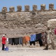 Daily life in Essaouira - Stock Photo