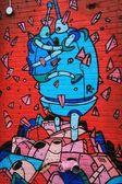 New York Graffiti — Stock Photo