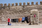 Daily life in Essaouira — Stock Photo