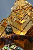 Estátua do grande palácio — Foto Stock