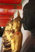 Bouddha noir — Stock Photo