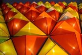 Triangles of light — Stock Photo