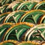 Ecailles de dragon — Stock Photo