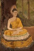 Bouddha prayer — Stock Photo