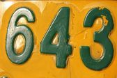 Número 643 — Foto de Stock