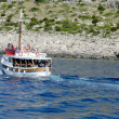 Постер, плакат: Cruise ship near Kornati