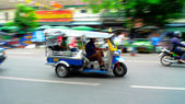 Busy tuk-tuk — Stock Photo
