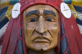 Cigar Store Indian — Stock Photo