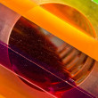 Stock Photo: Rainbow plexiglas