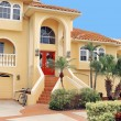 Three story home in the Tropics - Stock Photo