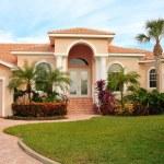 maison haut de gamme luxe tropical paysagère — Photo
