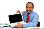 Young Hispanic business man — Stock Photo