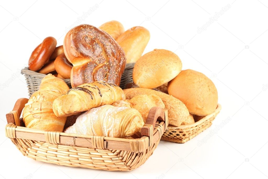 Appetizing batch in a basket — Stock Photo #5316032