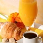 Appetizing breakfast — Stock Photo