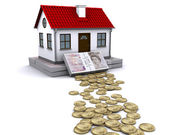 Stable foundation for home — Stock Photo