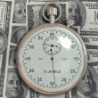 Time is money (dollar) — Foto Stock