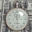 Time is money (dollar) — Stock Photo