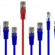 Graph of network cables — Stock Photo #5271681