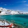 Stock Photo: Beautiful Mykonos
