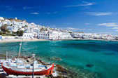 Beautiful Mykonos — 图库照片
