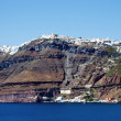 Stock Photo: Coastline of Santorini