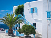 House in the Greek Islands — Stock Photo