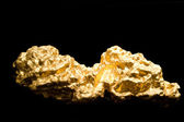Nugget gold — Stockfoto