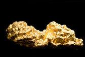 一块黄金 — 图库照片