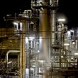 Factory at Night - Stock Photo