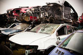 Crashed Cars — Stock Photo