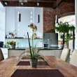 Stock Photo: Dining Table at Home