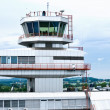 Airport Tower of Linz - Stok fotoğraf