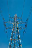 Power Supply Line — Foto Stock