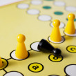 Intolerance in a Board Game — Stock Photo
