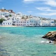Stock Photo: Bay of Mykonos